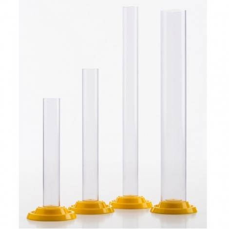 Plastic graduated measuring cylinder - 210 ml