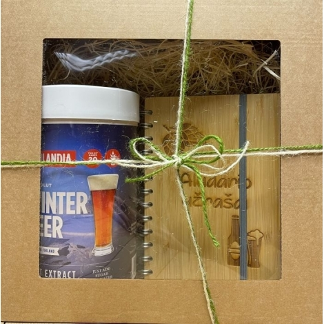 """A gift for a beer lover """"Winter beer"""""""