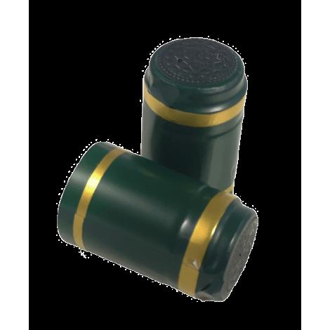 Wine bottle sealable sleeve 20pcs Green Gold