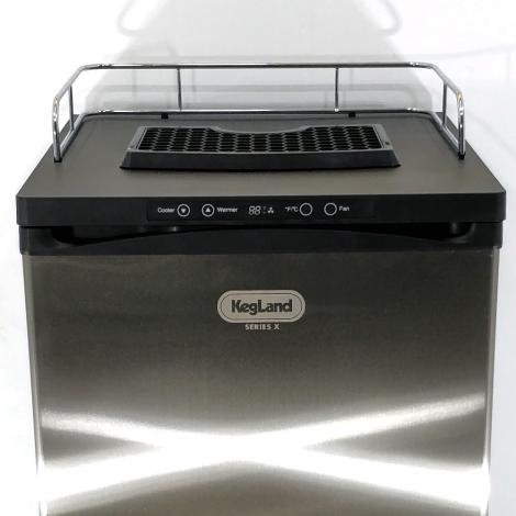 "X serija - ""Kegerator"" šaldytuvas su reguliatoriumi"