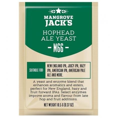 Hophead ale yeast M66