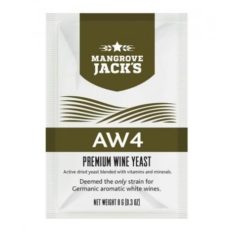 "Vyno mielės ""Mangrove Jack's AW4"