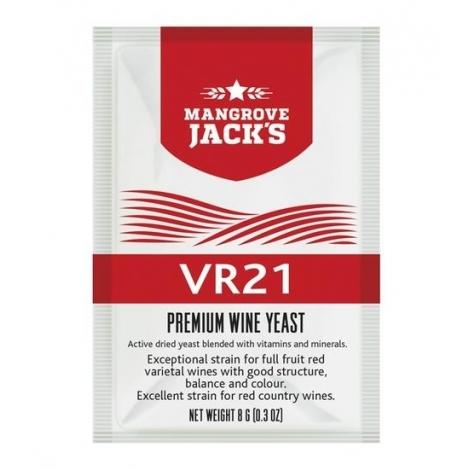 """vīna raugs """"Mangrove Jack's VR21"""""""