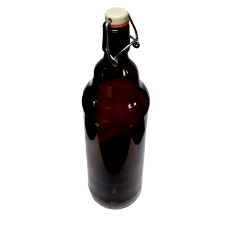 Bottle of beer 1L with stopper