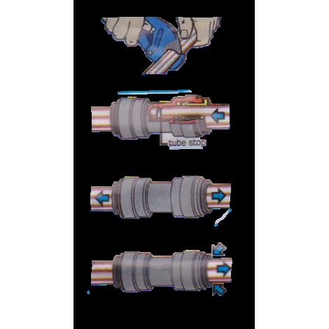 Speedfit Greitoji jungtis