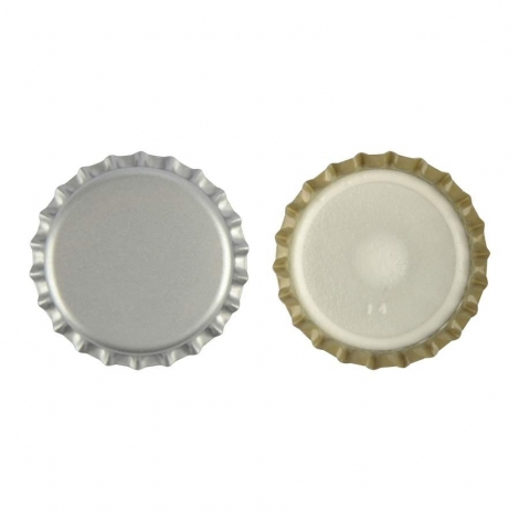 White Cap 29mm, 100 pcs