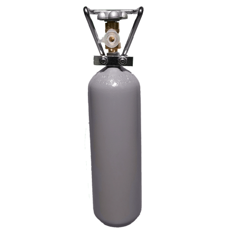 Užpildytas CO2 cilindras 2,7 Litro