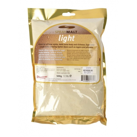 Spraymalt Muntons light 12 EBC 500 g