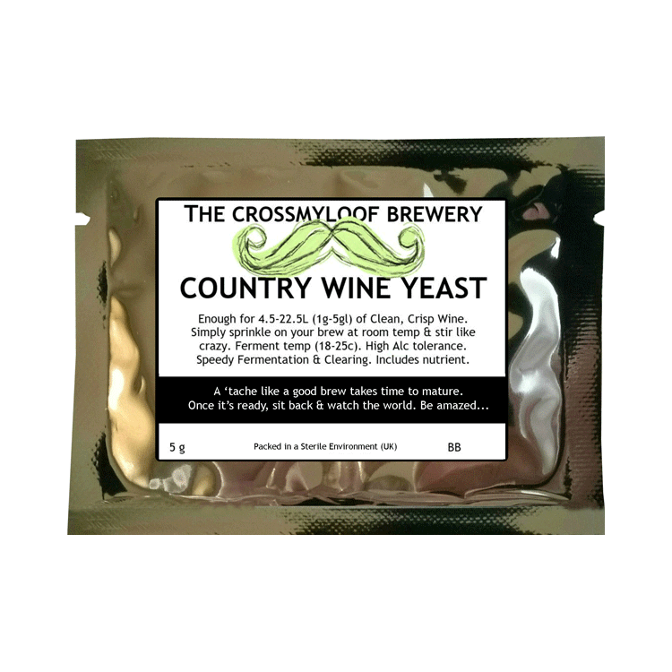 Country wine yeast