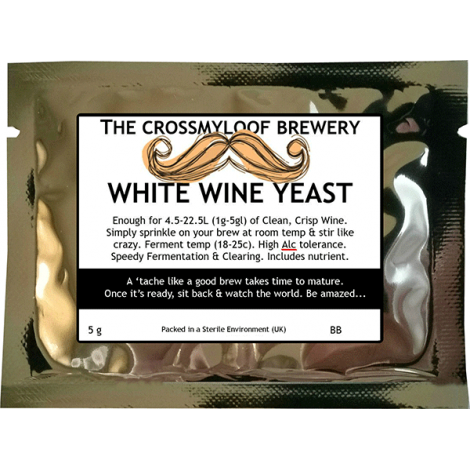 White wine yeast