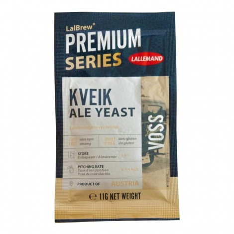 LALLEMAND LalBrew™ dried brewing yeast Voss Kveik 11g.