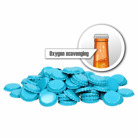 Cap oxygen scavenging  26mm 100 pcs