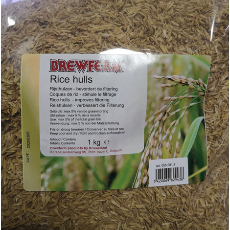Rice husks 1 kg