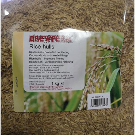 Rīsu miziņa 1 kg
