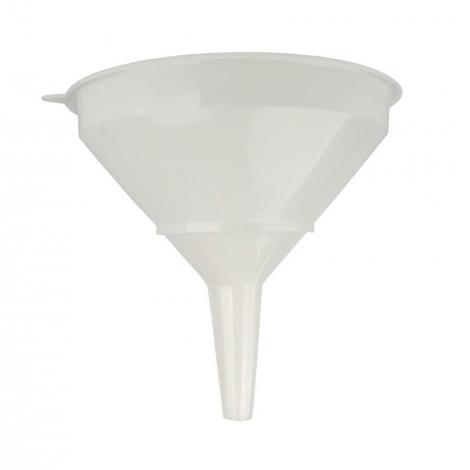 Funnel plastic 30 cm diam. + strainer