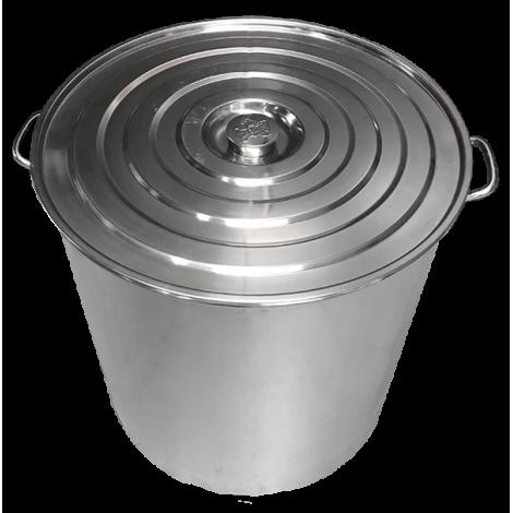 Steel pot 89, 67, 50 Liters