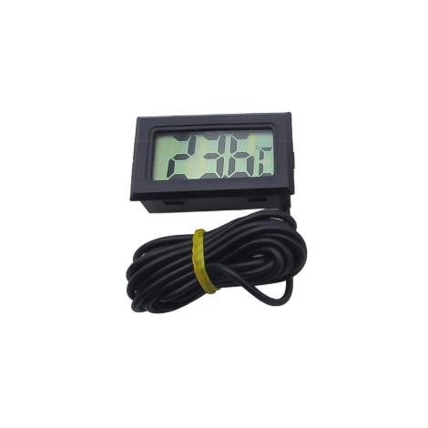 Įmontuojamas termometras su laidu