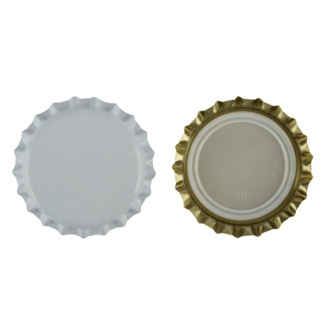 White Cap 26mm, 100 pcs